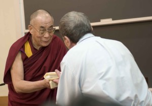 Dalai Lama and Vic, April 2008